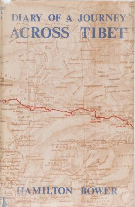 Diary of a Journey Across Tibet. H. Bower.