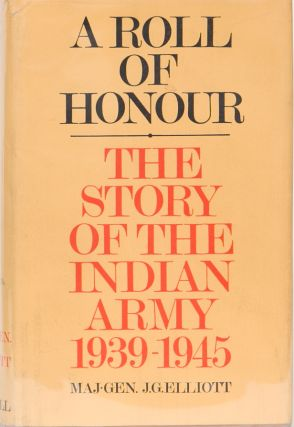 A Roll of Honour. J. Elliott.