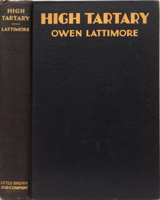 High Tartary. O. Lattimore