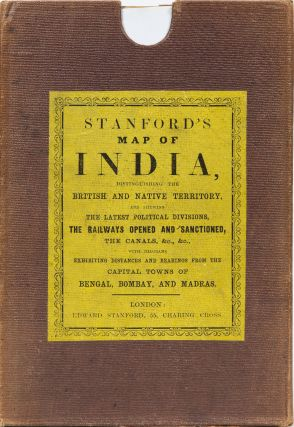 Stanford's Map of India