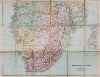 British South Africa. Edward Stanford