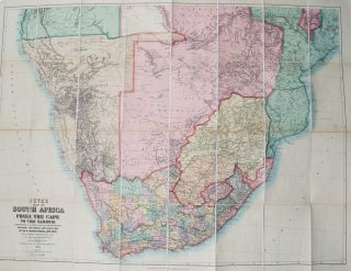 Juta's Map of South Africa. J. Juta