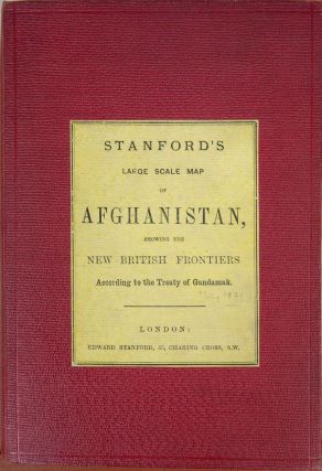 Stanford's Large Scale Map of Afghanistan