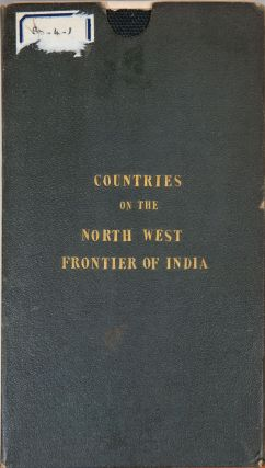 Map of the Countries on the Northwest frontier of India