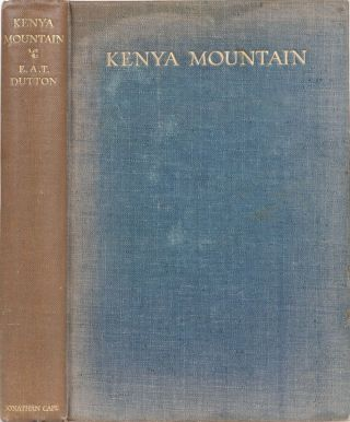Kenya Mountain. EA Dutton.