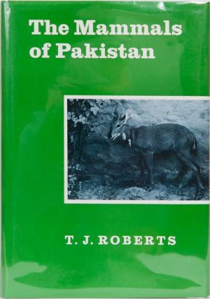 The Mammals of Pakistan. T. J. Roberts