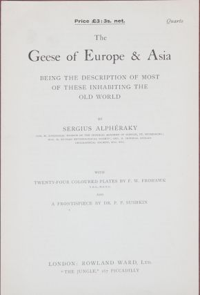 The Geese of Europe and Asia