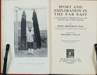 Sport and Exploration in the Far East