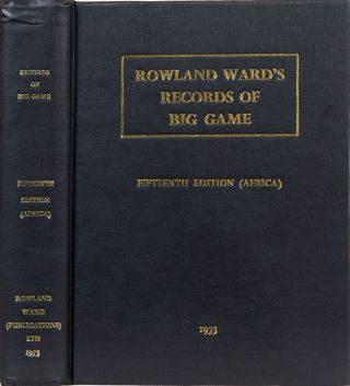 Rowland Ward's Records of Big Game. G. Best