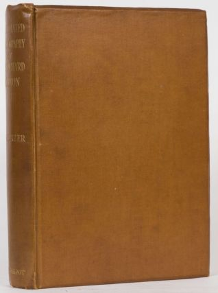 An Annotated Bibliography of Sir Richard Francis Burton. N. Penzer.