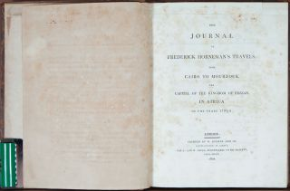 The Journal of Frederick Horneman's Travels