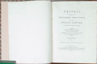 Travels through the Southern Provinces of the Russian Empire