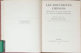 Les Documents Chinois