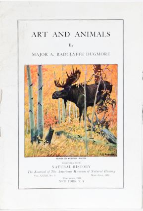 Art and Animals. Major A. Radclyffe Dugmore.