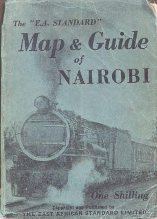 Street Map of Nairobi. East African Standard