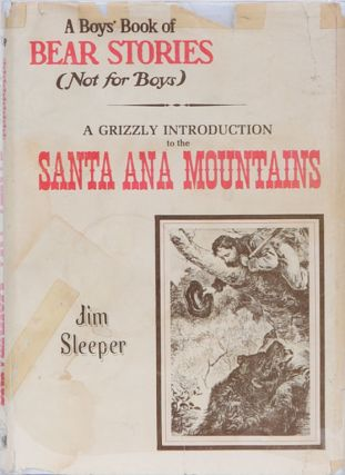 A Boy's Book of Bear Stories. Jim Sleeper