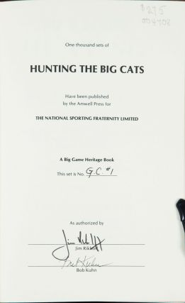 Hunting the Big Cats