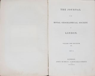 Journal of the Royal Geographical Society of London