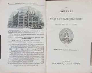 The Journal of the Royal Geographical Society