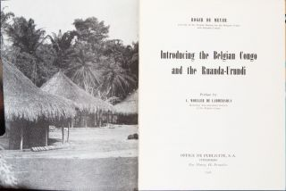 Introducing the Belgian Congo and the Ruanda-Urundi