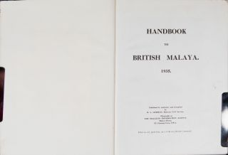Handbook to British Malaya 1935