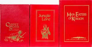 Culler Collection including My India, Maneaters of Kumaon, The Maneating Leopard of Rudaprayag, Jule Lore, The Temple Tiger and Carpet Sahib by Martin Booth