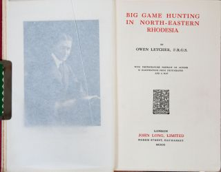 Big Game Hunting in North-Eastern Rhodesia