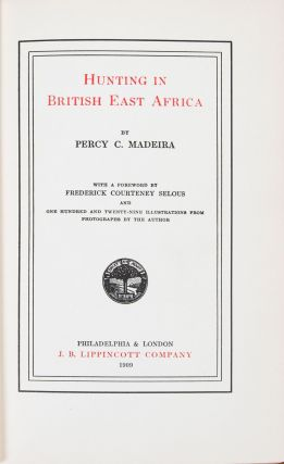 Hunting in British East Africa