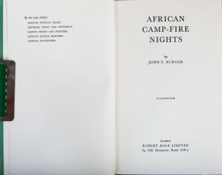 African Camp-fire Nights