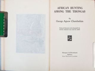 African Hunting Among the Thongas