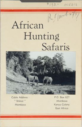 African Hunting Safaris. African Hunting Safaris