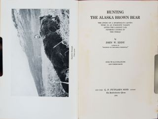 Hunting the Alaska Brown Bear