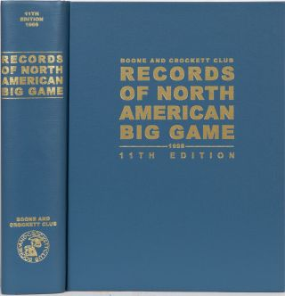 Records of North American Big Game 11th edition