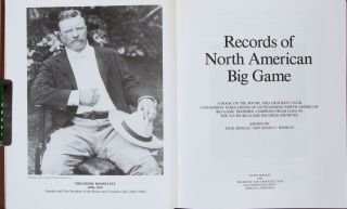 Records of North American Big Game 10th ed 1993
