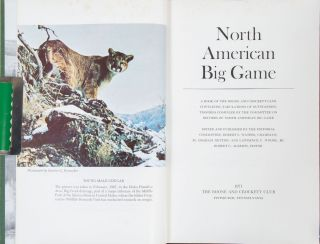 Records of North American Big Game 6th edition 1971