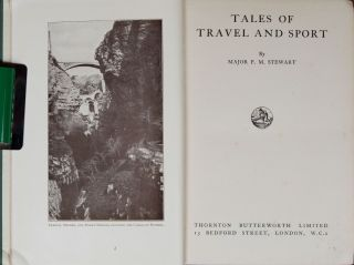 Tales of Travel and Sport