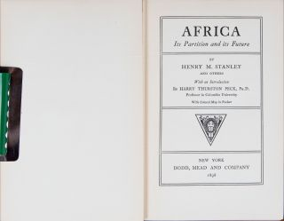 Africa Its Partition and Its Future