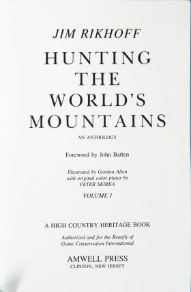 Hunting the World's Mountains