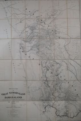 Original Map of Great Manaqualand and Damaraland