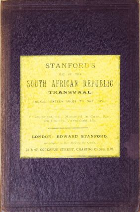 Stanford's Map of the South African Republic (Transvaall)