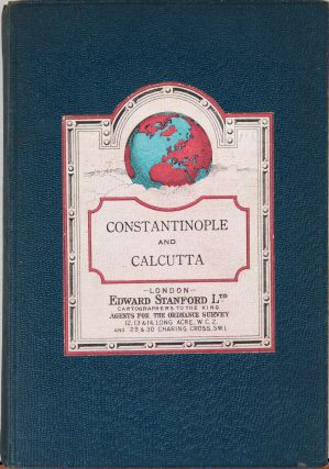 Map of the Countries Between Constaninople and Calcutta Including Turkey in Asia, Persia, Afghanistan and Turkestan