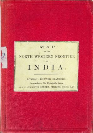 Map of the North Western Frontier of India