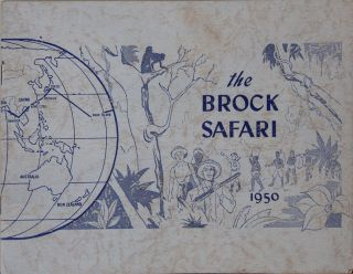 The Brock Safari 1950. O. Carlyle Brock.