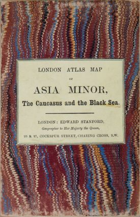 Asia Minor, the Caucasus and the Black Sea. Edward Stanford