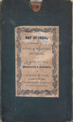 Map of India. James Wyld
